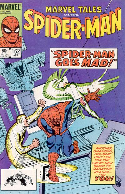 Cover for Marvel Tales (Marvel, 1966 series) #162 [Direct Edition]