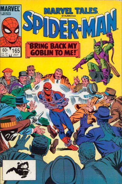Cover for Marvel Tales (Marvel, 1966 series) #165 [Direct Edition]