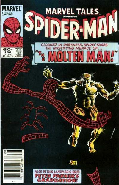 Cover for Marvel Tales (Marvel, 1966 series) #166