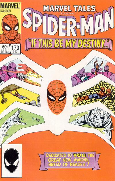 Cover for Marvel Tales (Marvel, 1966 series) #170