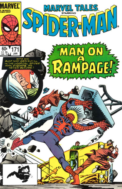 Cover for Marvel Tales (Marvel, 1966 series) #171 [Newsstand Edition]
