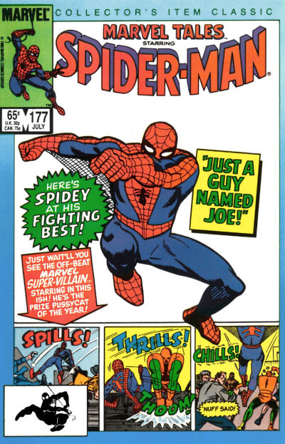 Cover for Marvel Tales (Marvel, 1966 series) #177