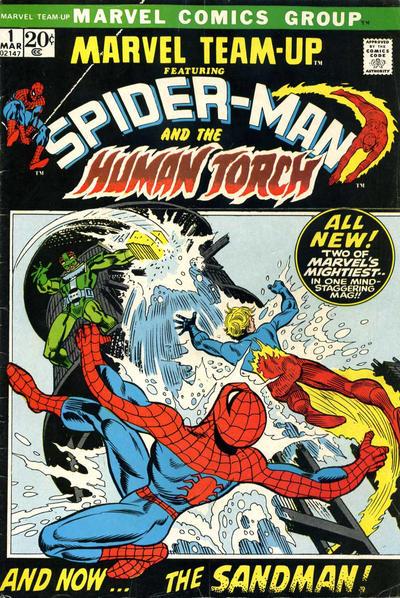 Cover for Marvel Team-Up (Marvel, 1972 series) #1