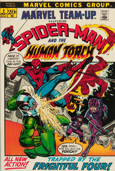 Cover for Marvel Team-Up (Marvel, 1972 series) #2