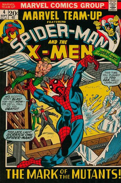 Cover for Marvel Team-Up (Marvel, 1972 series) #4