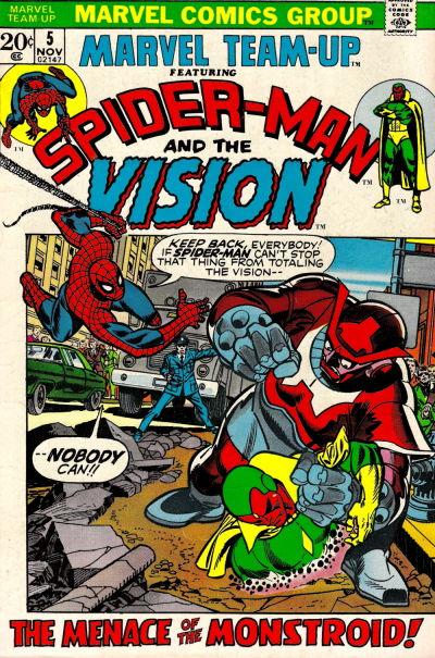 Cover for Marvel Team-Up (Marvel, 1972 series) #5