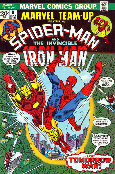 Cover for Marvel Team-Up (Marvel, 1972 series) #9
