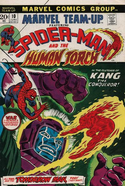 Cover for Marvel Team-Up (Marvel, 1972 series) #10