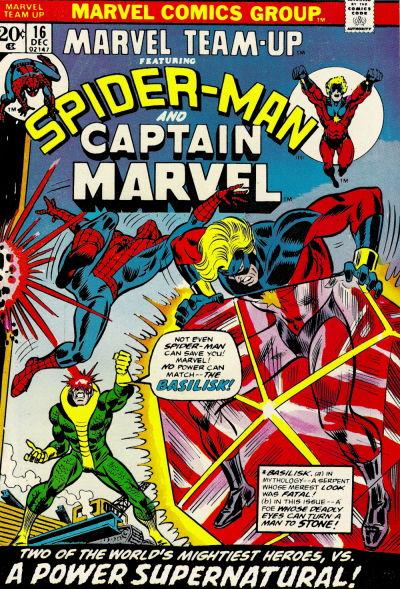 Cover for Marvel Team-Up (Marvel, 1972 series) #16
