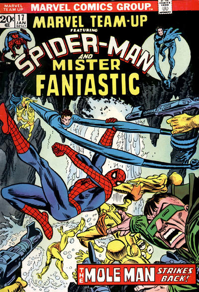 Cover for Marvel Team-Up (Marvel, 1972 series) #17