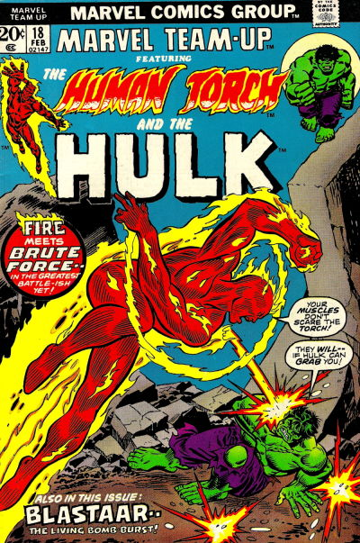 Cover for Marvel Team-Up (Marvel, 1972 series) #18