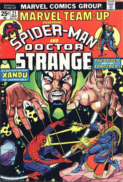 Cover for Marvel Team-Up (Marvel, 1972 series) #21