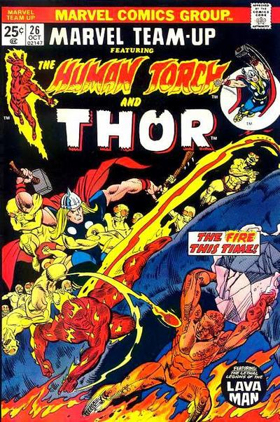 Cover for Marvel Team-Up (Marvel, 1972 series) #26