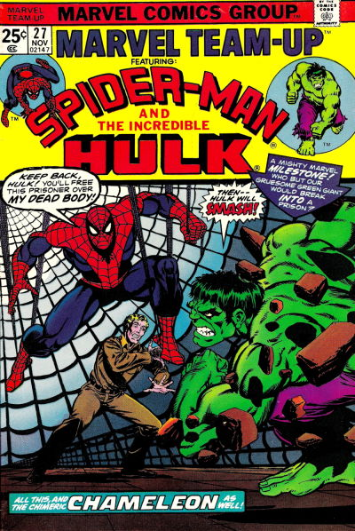 Cover for Marvel Team-Up (Marvel, 1972 series) #27 [British]