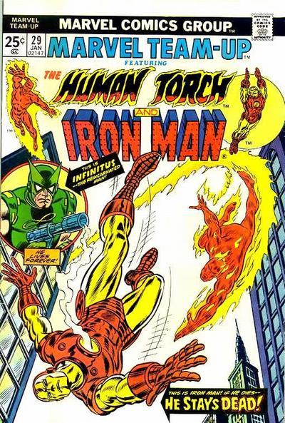 Cover for Marvel Team-Up (Marvel, 1972 series) #29