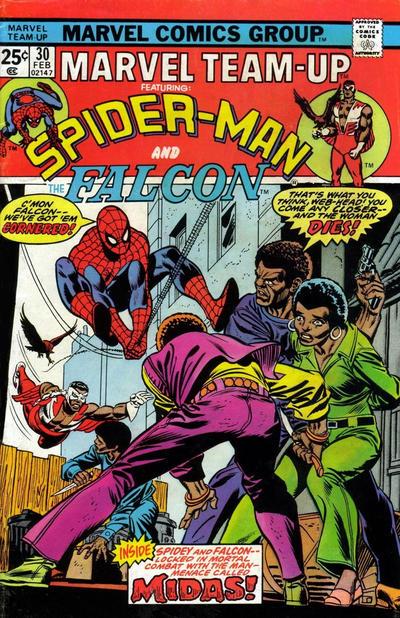 Cover for Marvel Team-Up (Marvel, 1972 series) #30