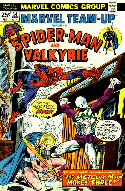 Cover for Marvel Team-Up (Marvel, 1972 series) #34