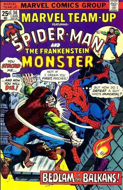 Cover for Marvel Team-Up (Marvel, 1972 series) #36 [Regular Edition]