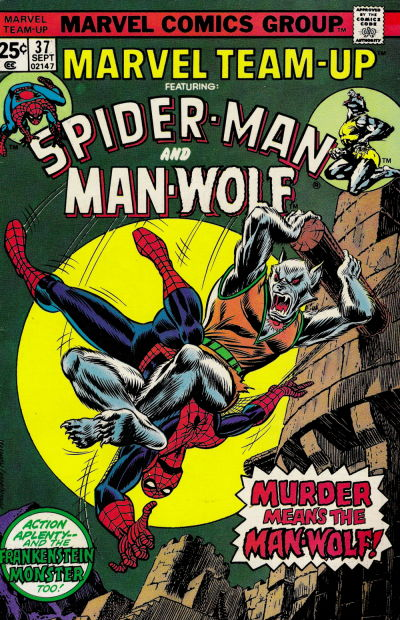 Cover for Marvel Team-Up (Marvel, 1972 series) #37