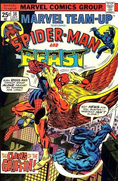 Cover for Marvel Team-Up (Marvel, 1972 series) #38