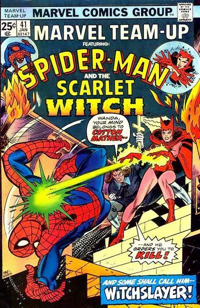 Cover for Marvel Team-Up (Marvel, 1972 series) #41 [British price variant.]
