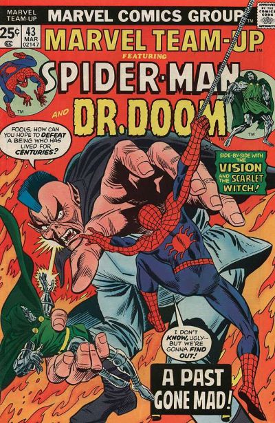 Cover for Marvel Team-Up (Marvel, 1972 series) #43
