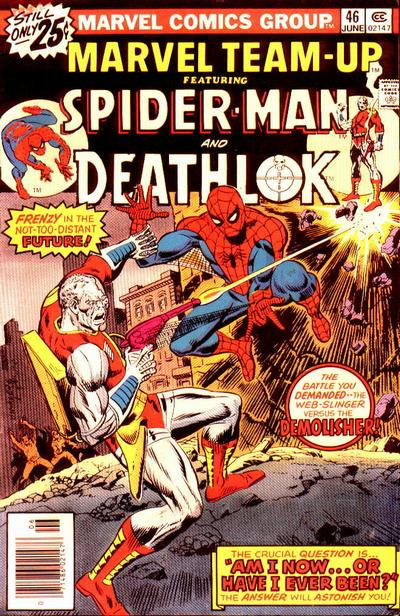 Cover for Marvel Team-Up (Marvel, 1972 series) #46
