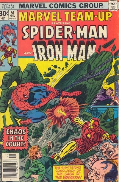 Cover for Marvel Team-Up (Marvel, 1972 series) #51