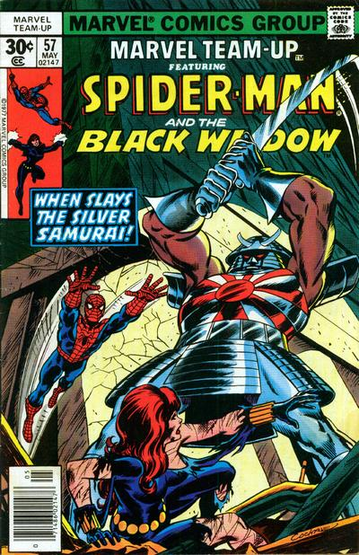 Cover for Marvel Team-Up (Marvel, 1972 series) #57 [British price variant]
