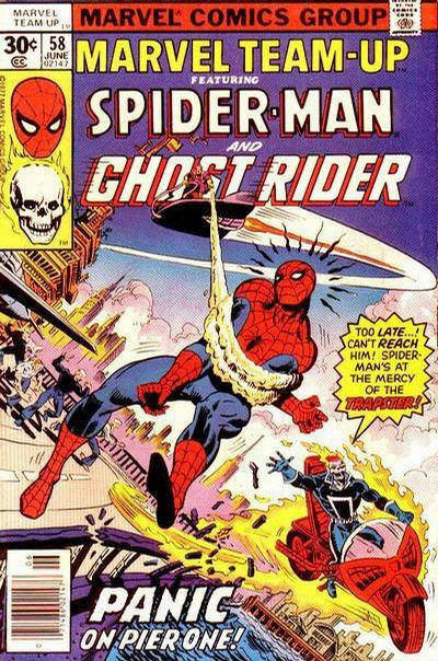 Cover for Marvel Team-Up (Marvel, 1972 series) #58