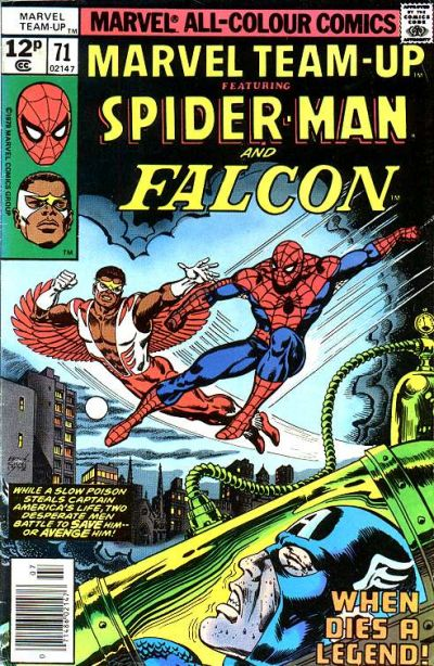 Cover for Marvel Team-Up (Marvel, 1972 series) #71