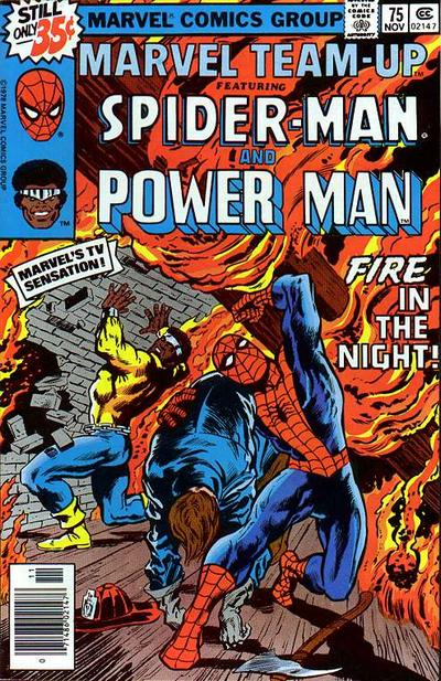 Cover for Marvel Team-Up (Marvel, 1972 series) #75