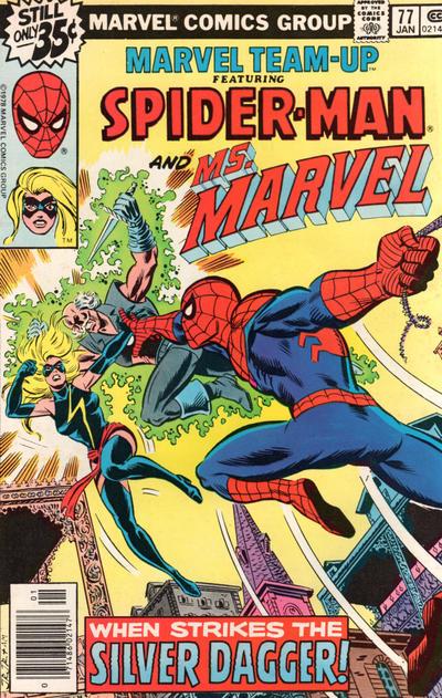 Cover for Marvel Team-Up (Marvel, 1972 series) #77