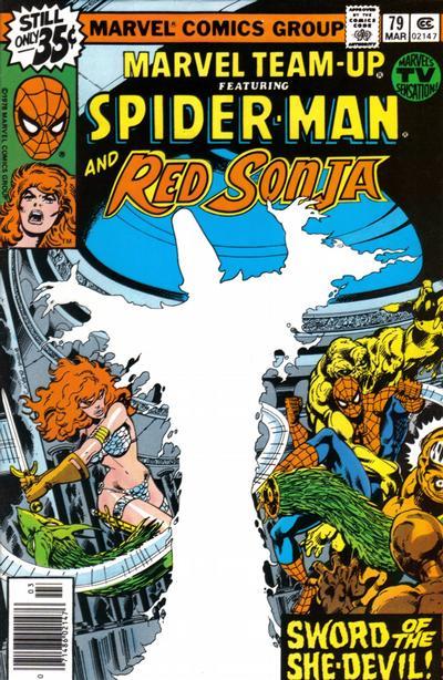 Cover for Marvel Team-Up (Marvel, 1972 series) #79