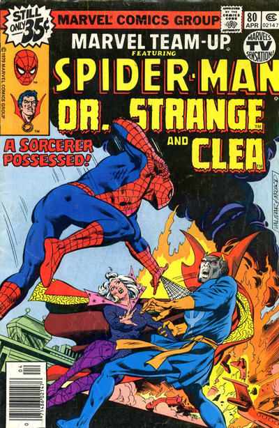 Cover for Marvel Team-Up (Marvel, 1972 series) #80