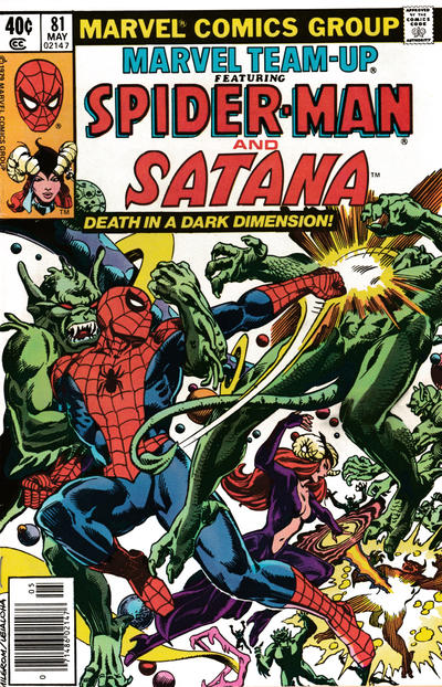 Cover for Marvel Team-Up (Marvel, 1972 series) #81 [Direct Edition]