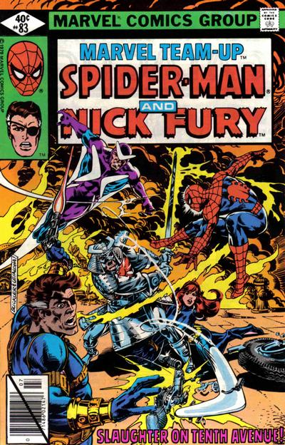 Cover for Marvel Team-Up (Marvel, 1972 series) #83 [Direct Edition]