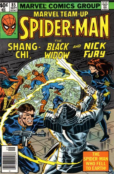Cover for Marvel Team-Up (Marvel, 1972 series) #85 [Direct Edition]