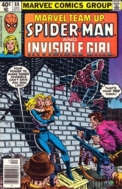 Cover for Marvel Team-Up (Marvel, 1972 series) #88 [Direct Edition]