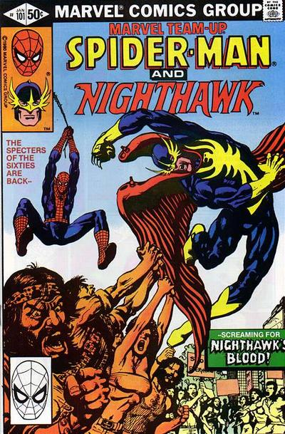 Cover for Marvel Team-Up (Marvel, 1972 series) #101 [Direct Edition]