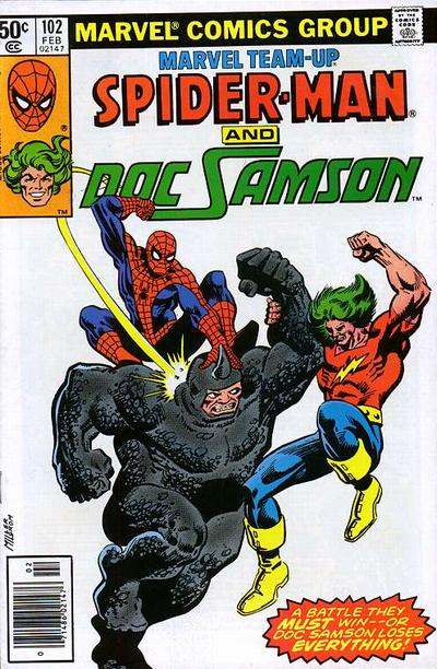 Cover for Marvel Team-Up (Marvel, 1972 series) #102 [Direct Edition]