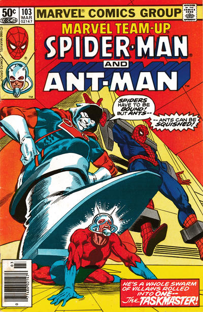 Cover for Marvel Team-Up (Marvel, 1972 series) #103 [Direct Edition]
