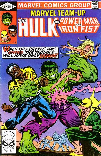 Cover for Marvel Team-Up (Marvel, 1972 series) #105 [Direct Edition]