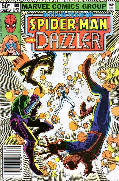 Cover for Marvel Team-Up (Marvel, 1972 series) #109