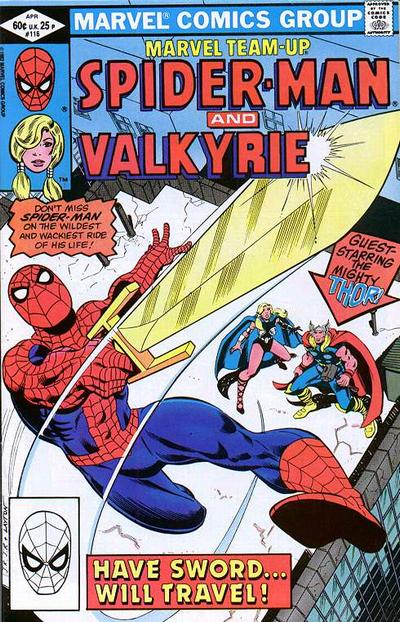 Cover for Marvel Team-Up (Marvel, 1972 series) #116 [Direct Edition]