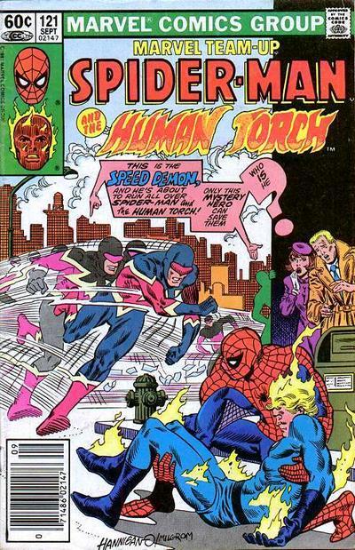 Cover for Marvel Team-Up (Marvel, 1972 series) #121