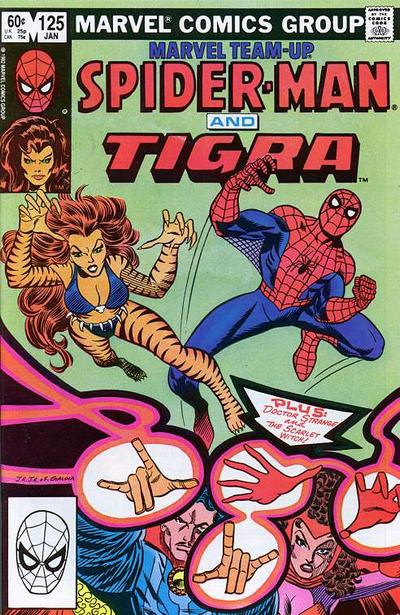 Cover for Marvel Team-Up (Marvel, 1972 series) #125 [Newsstand Edition]