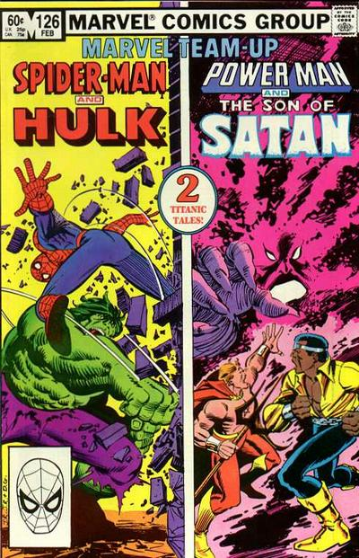 Cover for Marvel Team-Up (Marvel, 1972 series) #126 [Newsstand]
