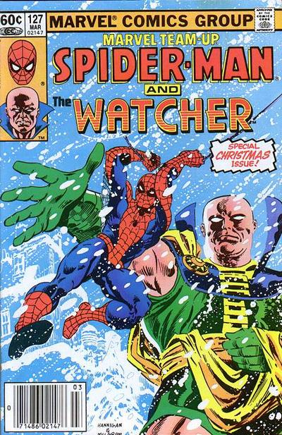 Cover for Marvel Team-Up (Marvel, 1972 series) #127 [Direct Market Edition]