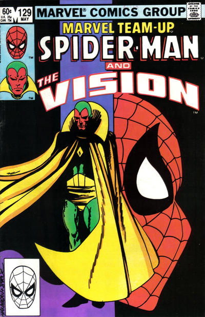 Cover for Marvel Team-Up (Marvel, 1972 series) #129 [Newsstand]